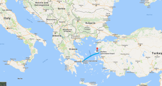 And finally we will serve on Lesvos Island.